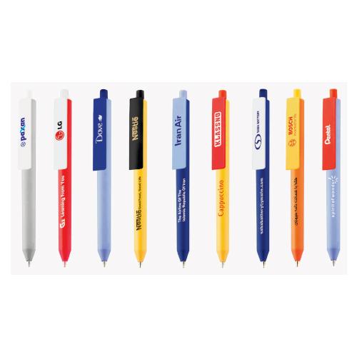 خودکار پلاستیکی کد 435D|دیدار هدیه ایرانیان|هدیه تبلیغاتی در مشهد|تنوع در رنگ و کیفیت|قابلیت چاپ و هک لیزری |