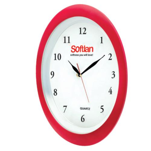 ساعت دیواری 5163A | دیدار هدیه ایرانیان | هدیه تبلیغاتی در مشهد | ساعت دیواری مدل ساویس|قاب پشت کریستال|