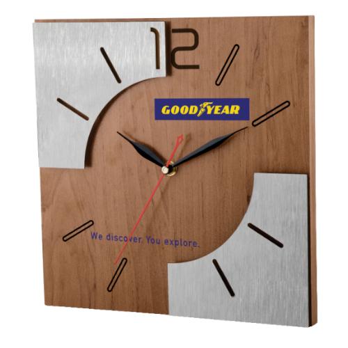 ساعت دیواری کد 5184| دیدار هدیه ایرانیان | هدیه تبلیغاتی در مشهد | هدیه در کل سال در مشهد | مدل استیل و MDF | تنوع درطرح و رنگ
