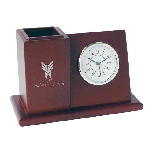ساعت رومیزی کد 5537|دیدار هدیه ایرانیان | هدیه تبلیغاتی در مشهد | همواره در مقابل دیدگان|ساعت رومیزی چوبی، جاخودکاری |