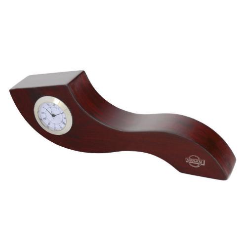 ساعت رومیزی کد 5604| دیدار هدیه ایرانیان | هدیه تبلیغاتی در مشهد | همواره در مقابل دیدگان|ساعت رومیزی چوبی|