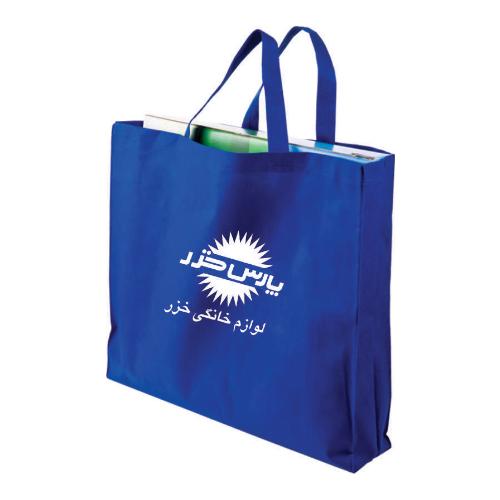 ساک دستی کد 201A | دیدار هدیه ایرانیان | هدیه تبلیغاتی در مشهد |ساک دستی های دوختی با پارچه اسپان باند یا سوزنی |