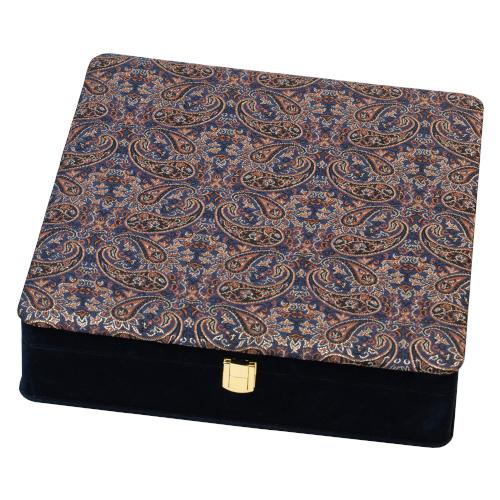 جعبه نفیس کد DGB 115|دیدار هدیه ایرانیان|هدیه تبلیغاتی در مشهد|جعبه چوبی نفیس |چای زعفران زنجبیل دارچین |